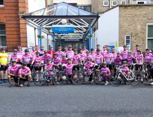 Vacu-Lug team members to cycle 160 miles for The Naomi Fund