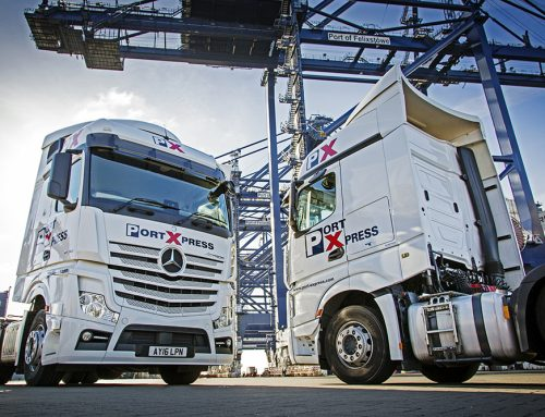 Port Express team up with Vacu-Lug Tyre Management to ensure compliance and efficiency